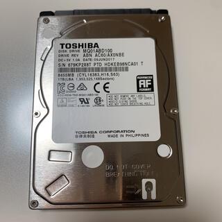 ノートパソコン用HDD 1TB