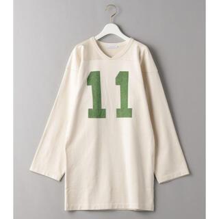 フィーニー(PHEENY)のPHEENY 21SS フットボールロングスリーブTシャツ(Tシャツ/カットソー(七分/長袖))
