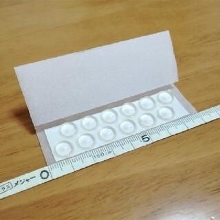 住友 3M社/日本製_デッキパッド_透明(半球形状) 中12個 送料込み(アクセサリー)
