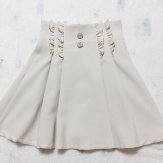 ロジータ(ROJITA)の♡ロジータお花ボタンスカート♡(ひざ丈スカート)