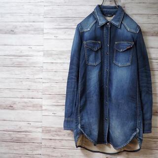 """ヤヌーク(YANUK)のYANUK """"Denit"""" Long Western Shirt(シャツ/ブラウス(長袖/七分))"""