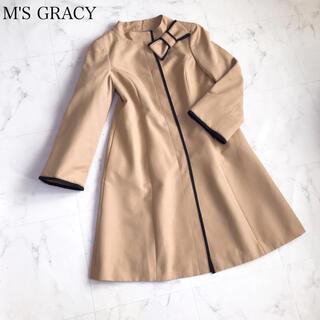 M'S GRACY - エムズグレイシー   バイカラー 春コート