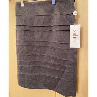 サリア(salire)のsalire サリア タイトスカート 新品未使用タグ付き(ミニスカート)