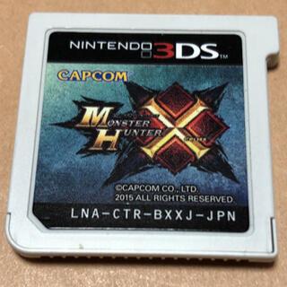 ニンテンドー3DS(ニンテンドー3DS)のモンスターハンタークロス ソフトのみ(携帯用ゲームソフト)