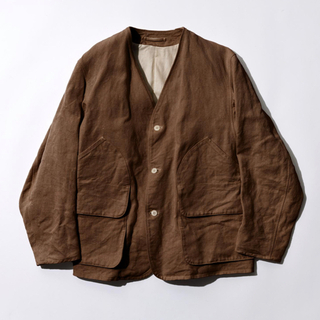 コモリ(COMOLI)のCOMOLI 21SS 別注 ヘンプダックジャケット サイズ 2 新品(ノーカラージャケット)