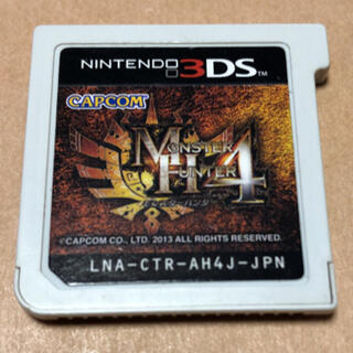 ニンテンドー3DS(ニンテンドー3DS)のモンスターハンター4 ソフトのみ(携帯用ゲームソフト)