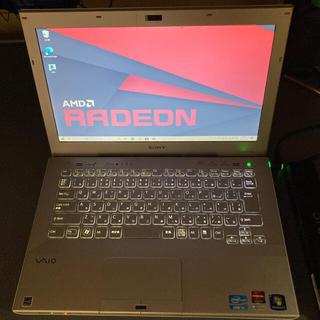 バイオ(VAIO)のSONY VAIO Windows10 白(ノートPC)