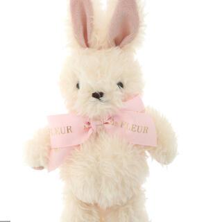 メゾンドフルール(Maison de FLEUR)の《Easter》ラビットチャーム ピンク(キーホルダー)