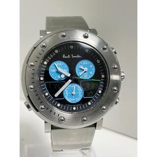 Paul Smith - T343 MBR★ポールスミス C390-Q02489Yアナデジ多機能 腕時計