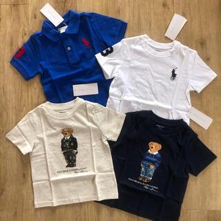 ラルフローレン(Ralph Lauren)のラルフローレン ベビー Tシャツ ポロベア  ビッグポニー ポロシャツ 90(Tシャツ/カットソー)