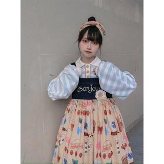 トゥアリス(To Alice)のToAlice ジャンパースカート(ひざ丈スカート)