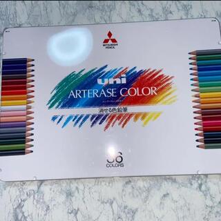 ミツビシ(三菱)のuni アーテレーズ 36色 三菱 消せる色鉛筆(色鉛筆)
