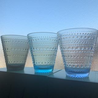 イッタラ(iittala)のイッタラ カステヘルミ タンブラー 3点❣️お値下げ❣️(グラス/カップ)