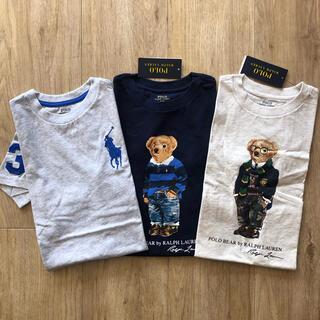 ラルフローレン(Ralph Lauren)のラルフローレン キッズ Tシャツ ポロベア  ビッグポニー 110 子供服(Tシャツ/カットソー)
