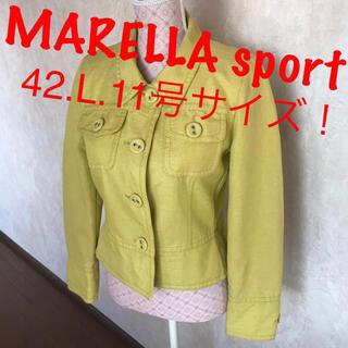 Max Mara - ★MARELLA Sport/マレーラ スポーツ★大きいサイズ!ジャケット42