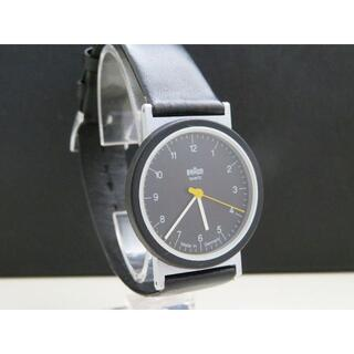 ブラウン(BRAUN)のBRAUN 腕時計 Rockwell社 ドイツ製 ブラック文字盤 AW10(腕時計(アナログ))
