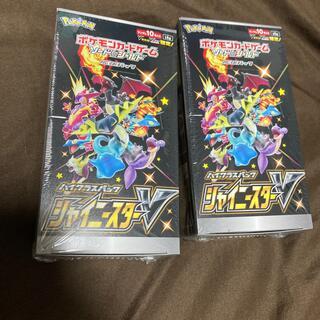 ポケモン(ポケモン)のポケモンカード シャイニースターV 2BOX  シュリンク付き(Box/デッキ/パック)