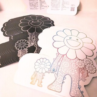 村上隆プロジェクト紹介カード takashimurakami(版画)