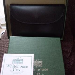 ホワイトハウスコックス(WHITEHOUSE COX)のホワイトハウスコックスS7660  三つ折りサイフ ブライドルレザー(折り財布)
