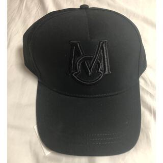 モンクレール(MONCLER)の【black】モンクレール  moncler ベースボールキャップ(キャップ)