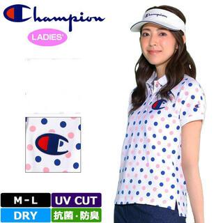 Champion - チャンピオン2020春夏 ゴルフウェア ポロシャツ レディースLサイズ
