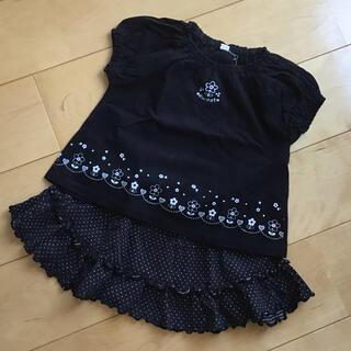 ニシマツヤ(西松屋)のTシャツ&スカート 90〜95㎝(Tシャツ/カットソー)