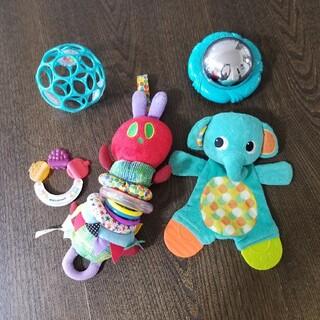 ニシマツヤ(西松屋)のおもちゃ まとめ売り ぶるぶる (知育玩具)