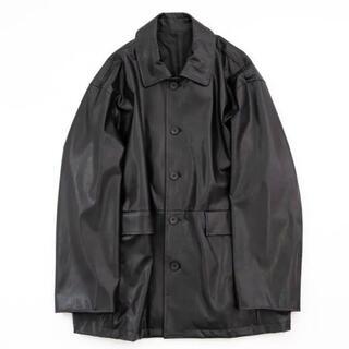 コモリ(COMOLI)のstein  21ss Fake Leather Car Jackets(レザージャケット)