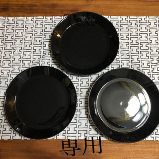 イッタラ(iittala)のiittala TEEMA ブラック 廃盤品(食器)