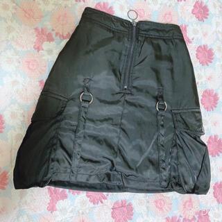シマムラ(しまむら)のブラック * スカート(ミニスカート)
