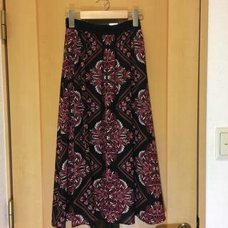 ジョルジュレッシュ(GEORGES RECH)のジョルジュ レッシュ フレアスカート  36(s)  美品(ロングスカート)