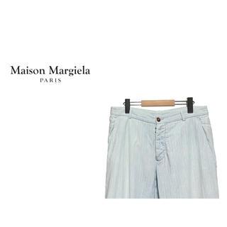 マルタンマルジェラ(Maison Martin Margiela)のMaison Martin Margiela 14 ストライプ イージーパンツ(スラックス)