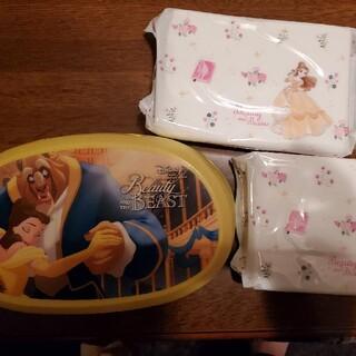 ディズニー(Disney)の美女と野獣 ウエットティッシュケース(ベビーおしりふき)