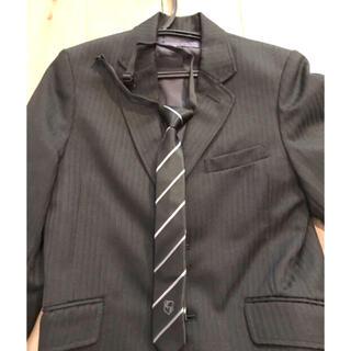 ヒロミチナカノ(HIROMICHI NAKANO)のヒロミチナカノ 男の子フォーマルスーツ130上下セット+コムサイズム ネクタイ(ドレス/フォーマル)