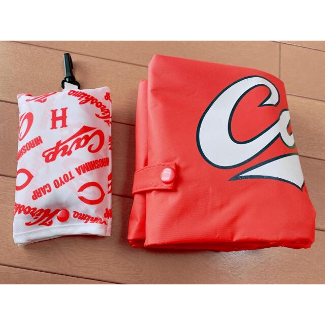 広島東洋カープ(ヒロシマトウヨウカープ)のカープ 防水巾着 エコバック セット スポーツ/アウトドアの野球(記念品/関連グッズ)の商品写真