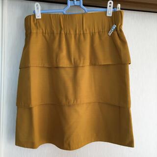 プーラフリーム(pour la frime)のプーラフリーム フリルスカート(ひざ丈スカート)