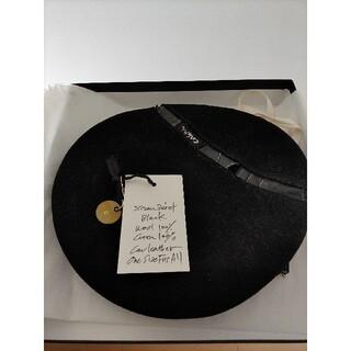 ポールハーデン(Paul Harnden)のatelier103 ensou Zizou Beret ベレー帽 black(ハンチング/ベレー帽)