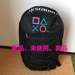プレイステーション(PlayStation)のプレイステーション PlayStation リュック 黒 メンズ レディース(バッグパック/リュック)