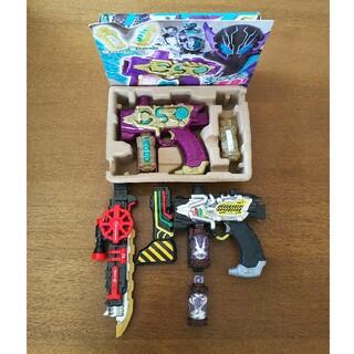 バンダイ(BANDAI)の仮面ライダービルドDXトランスチームガン、ネビュラスチームガン&スチームブレード(特撮)