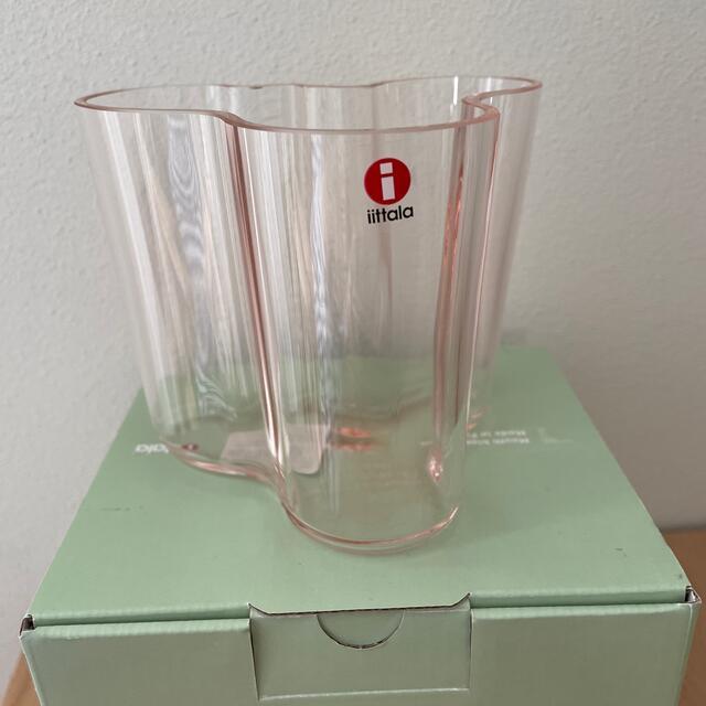 iittala(イッタラ)のイッタラ アアルト Aalto ベース95mm サーモンピンク インテリア/住まい/日用品のインテリア小物(花瓶)の商品写真