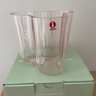 イッタラ(iittala)のイッタラ アアルト Aalto ベース95mm サーモンピンク(花瓶)