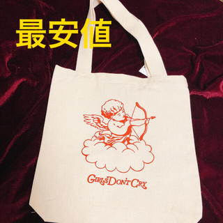 Girls Don't Cry Totebag エンジェルキャンバストートバッグ(トートバッグ)