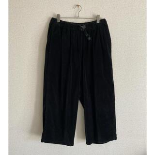 ビームスボーイ(BEAMS BOY)のGRAMICCI MOLESKIN BALLOON PANTS black(カジュアルパンツ)