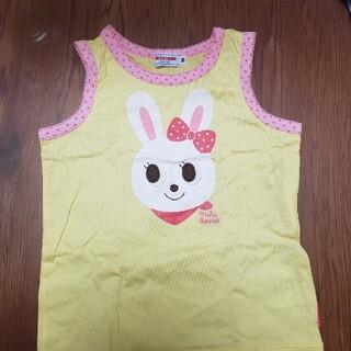 ミキハウス(mikihouse)のミキハウス タンクトップ 黄色 90(Tシャツ/カットソー)