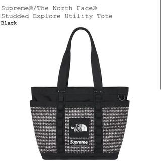 シュプリーム(Supreme)のSupreme the north face Studed tote ブラック(トートバッグ)