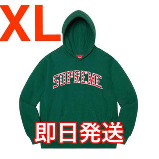 シュプリーム(Supreme)のSupreme Hearts Arc Hooded Sweatshirt 緑(パーカー)
