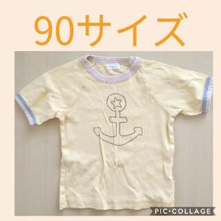 コンビミニ(Combi mini)の90サイズ  Combi mini  マリン  イエロー(Tシャツ/カットソー)
