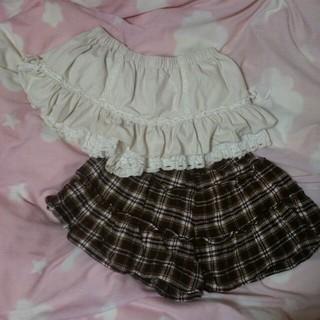 リズリサ(LIZ LISA)の秋冬スカパン♡2点セット(ミニスカート)