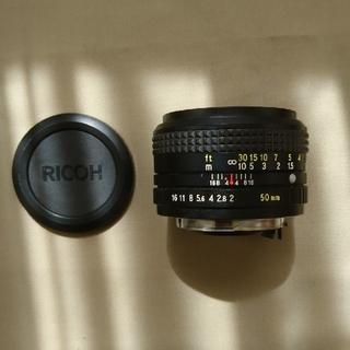 リコー(RICOH)の和製ズミクロン リコー XR RIKENON 50mm 1:2(レンズ(単焦点))