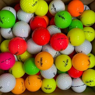 ホンマゴルフ(本間ゴルフ)のロストボール HONMA 各種混合 100球+おまけ(ゴルフ)